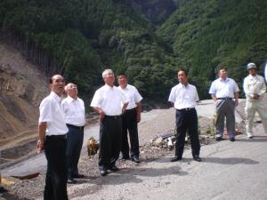 ② 奈良県紀伊半島大水害復旧・復興計画の推進