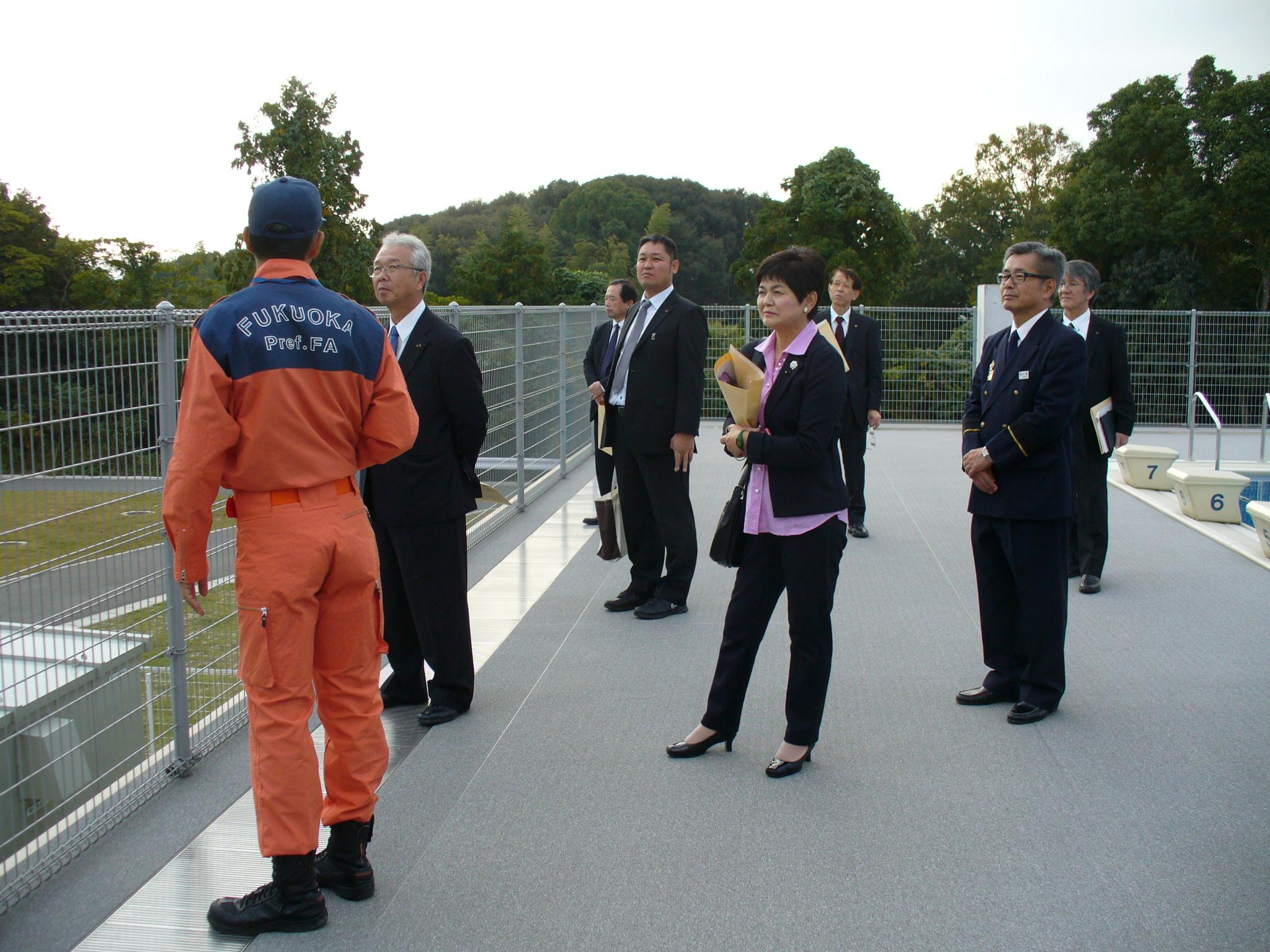 山本のぶあき – 11.9-10 総務警察委員長として 県外調査